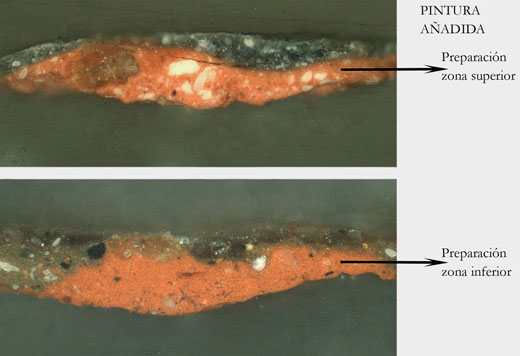 <p><em>Fig.3</em>. Stratigraphic samples of the additional strips</p>