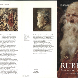 Rubens : la Adoración de los Magos = Rubens : the Adoration of the Magi / Museo Nacional del Prado.