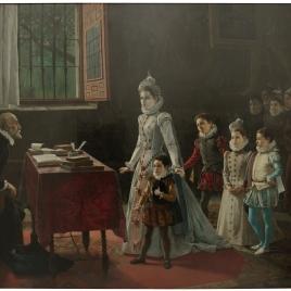 Los hijos de Antonio Pérez ante Rodrigo Vázquez