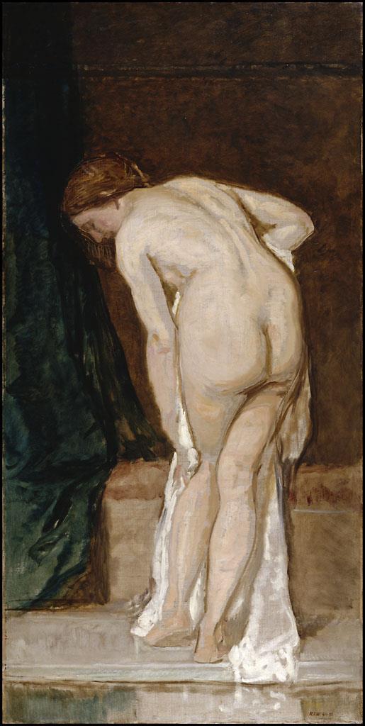 Desnudo femenino (al salir del baño) [Rosales]