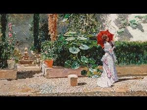"""Discovering the collection: """"The Garden of the Fortuny Residence"""", by Fortuny and Madrazo"""