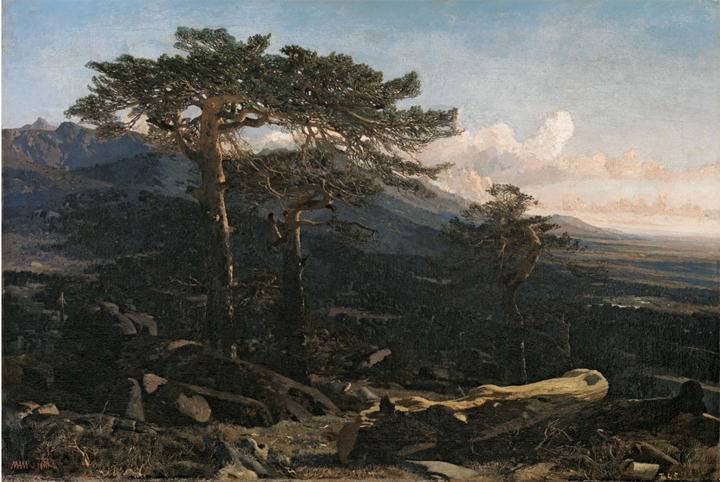 Rico's Beginnings as Landscape Painter (1854-1861)