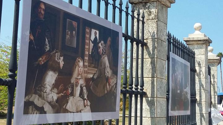 El Prado presenta en La Habana una muestra al aire libre de reproducciones fotográficas de más de cincuenta obras de su colección
