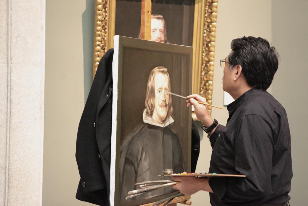 El Museo del Prado recibe como copistas un grupo de pintores de las mejores escuelas de Bellas Artes de China
