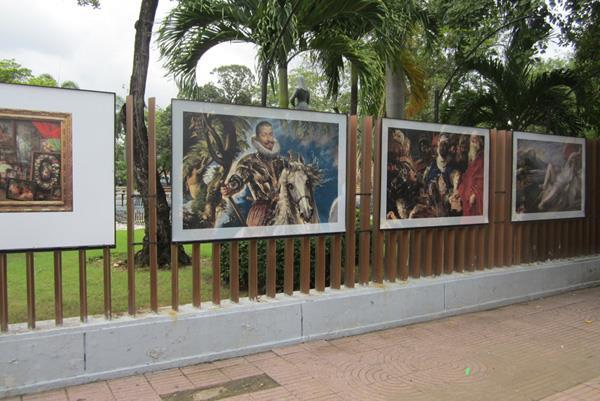 El Prado presenta en la República Dominicana una muestra al aire libre de reproducciones fotográficas de más de un centenar de obras de su colección