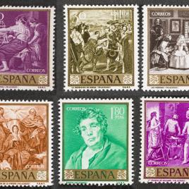 Serie de sellos Velázquez