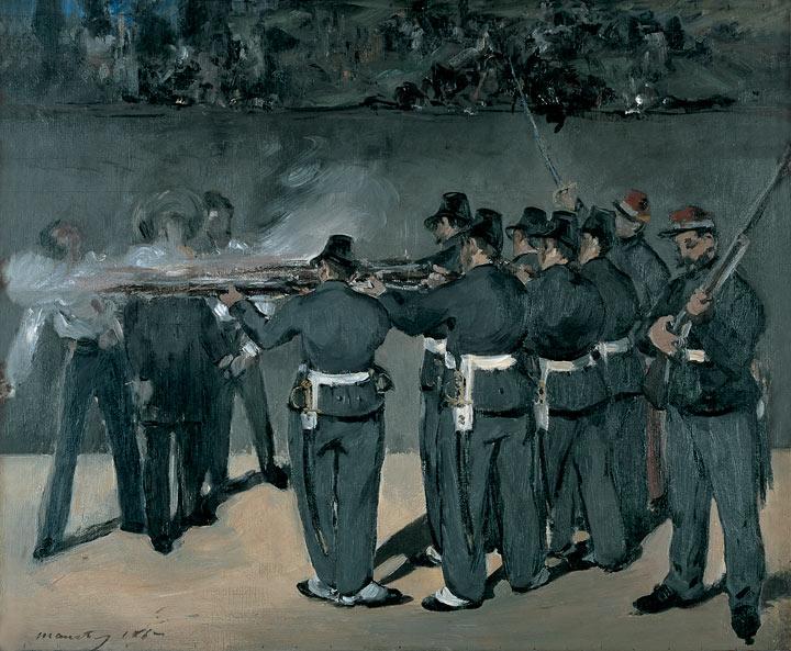 Manet después de España (1867-71)