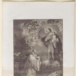 La Aparición de la Virgen a san Bernardo