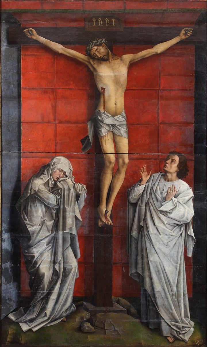 Proyecto de restauración de El Calvario de Rogier van der Weyden