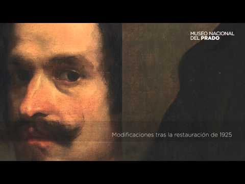 The invited work: Portrait of a Man, Velázquez