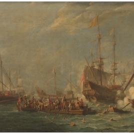 Combate naval entre turcos y malteses