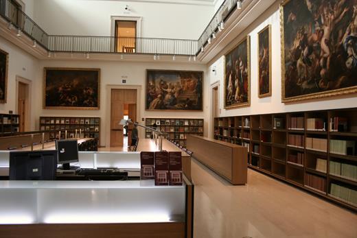 Abierta ya la nueva sede de la biblioteca del Museo del Prado, en el Casón del Buen Retiro