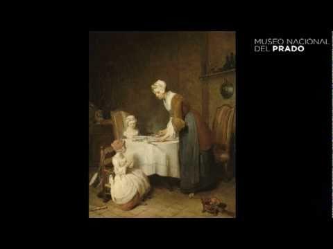 Obras comentadas: Chardin: Le Bénédicité (La bendición)