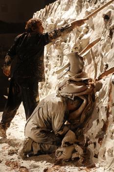 El 'Paso Doble' de Miquel Barceló y Josef Nadj en el Casón del Buen Retiro