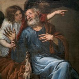 San Pedro liberado por un ángel