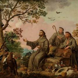 San Francisco predicando a las aves