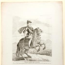 Felipe III, a caballo