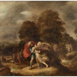 Lucha de Jacob con el ángel