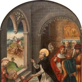 Saint Dominic resurrects a Boy