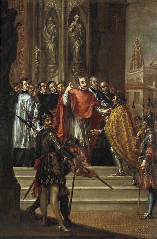 El Arzobispo Ambrosio Spinola y Valdés Leal