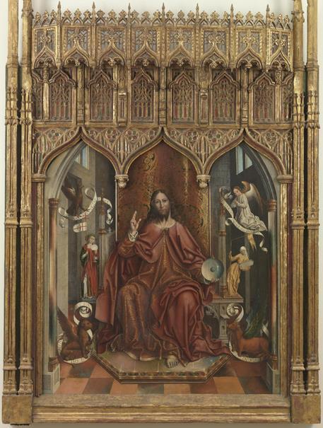 Cristo bendiciendo (reprodución fotográfica)