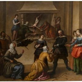 Ultrajes al Crucifijo, o Cristo de las Injurias