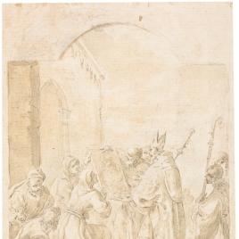 Gerardo de Gisla, obispo de Bolonia y las ermitañas Azzolina y Beatriz