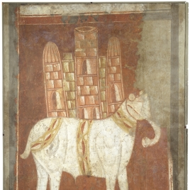 Elephant. Hermitage of San Baudelio. Casillas de Berlanga (Soria)