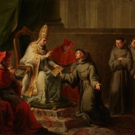 Aprobación de la regla franciscana por el papa Inocencio III