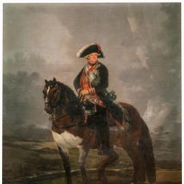 Carlos IV on Horseback