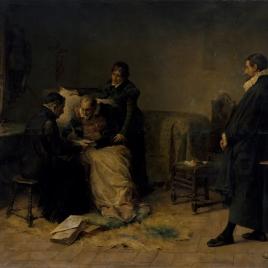 Cervantes, en sus últimos días, escribe la dedicatoria del Quijote al conde de Lemos