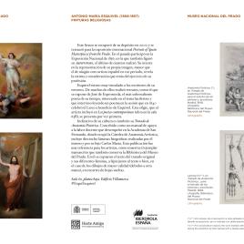 Antonio María Esquivel (1806-1857) : pinturas religiosas = Antonio María Esquivel (1806-1857) : his religious paintings / Museo Nacional del Prado.
