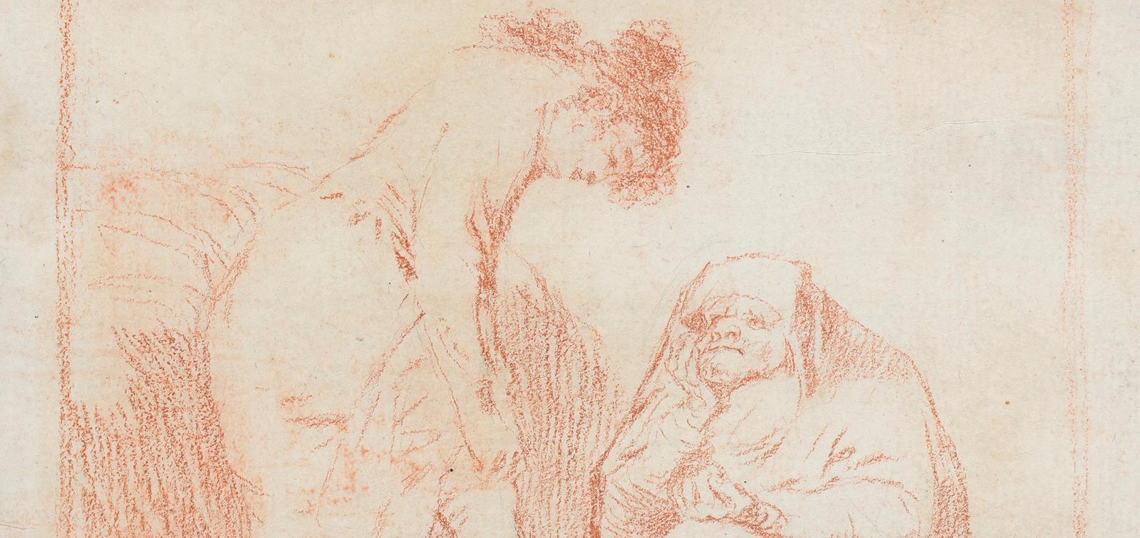 Temporary Installation: Goya's Drawings restored