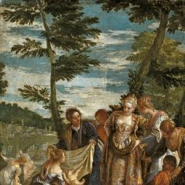 Moisés salvado de las aguas