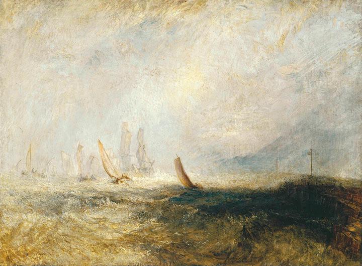 Turner paints himself into history