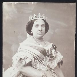Isabel II como condesa de Barcelona