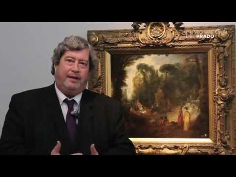 Obras comentadas: Fiesta en un parque, Jean-Antoine Watteau, (1712 - 1713), por Vincent Pomarède