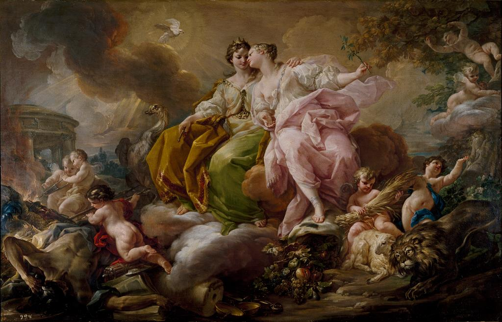 Spain and Italian art in the 18th century