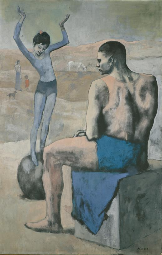Acrobat on a Ball, Picasso