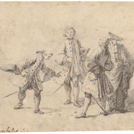 Tres caballeros y un magistrado