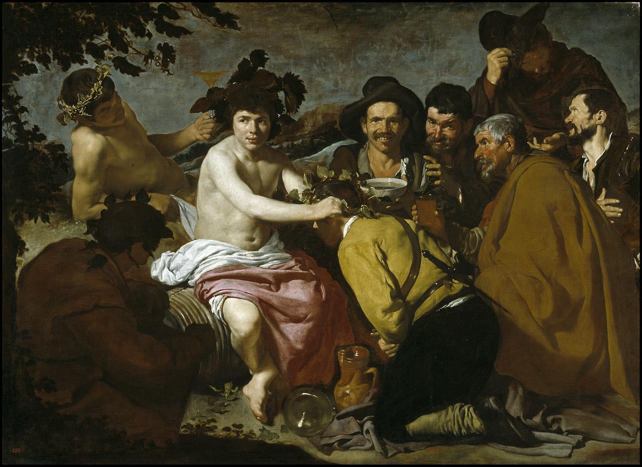 Triunfo de Baco o los borrachos, El [Velázquez]