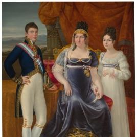 La reina de Etruria y sus hijos