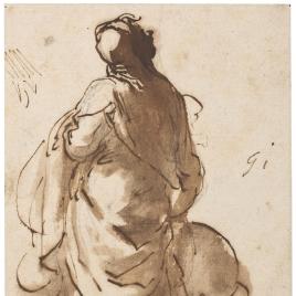Figura de espaldas