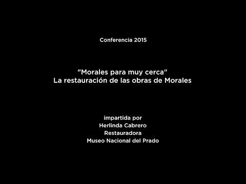 """Conferencia: """"Morales para muy cerca"""". La restauración de las obras de Morales"""