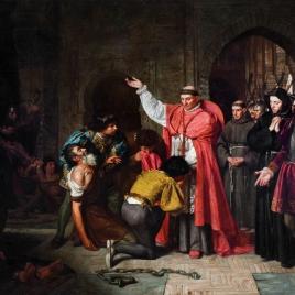 El cardenal Cisneros, en Orán, liberando cautivos