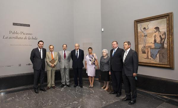 El Prado exhibe una de las obras más destacadas del período rosa de Picasso procedente del Pushkin de Moscú