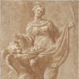 Figura femenina de mártir
