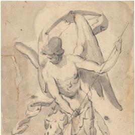 San Miguel venciendo a Lucifer